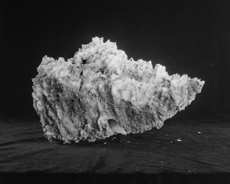 Death Valley   (diptych), 2014  Salt  Silver gelatin print 20 x 24 inches Ed: 3 + 2AP