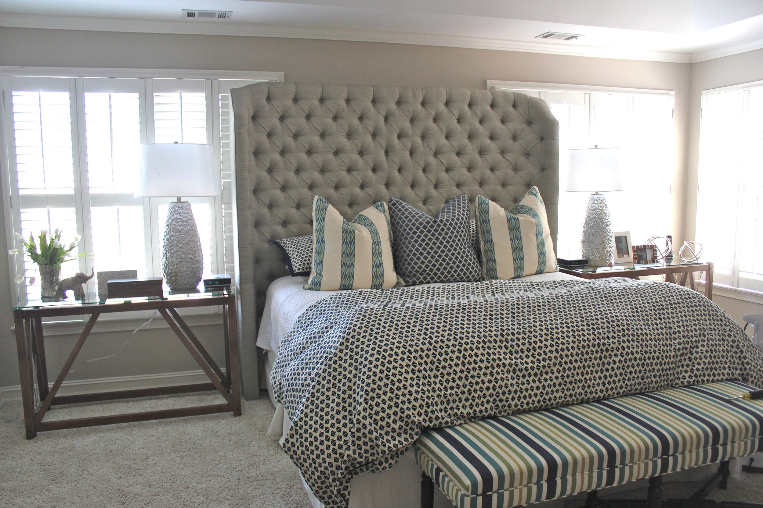 Dayka Robinson Custom Tufted 8'  wraparound headboard bedroom.jpg