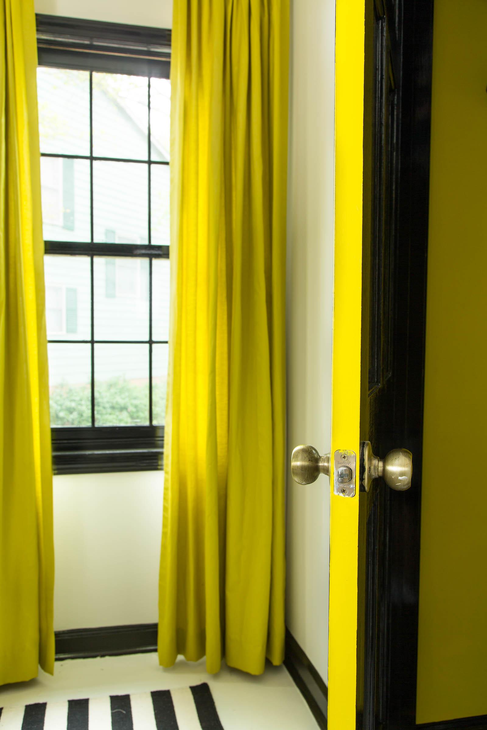 Dayka Robinson Designs Home Office Makeover Door Jamb