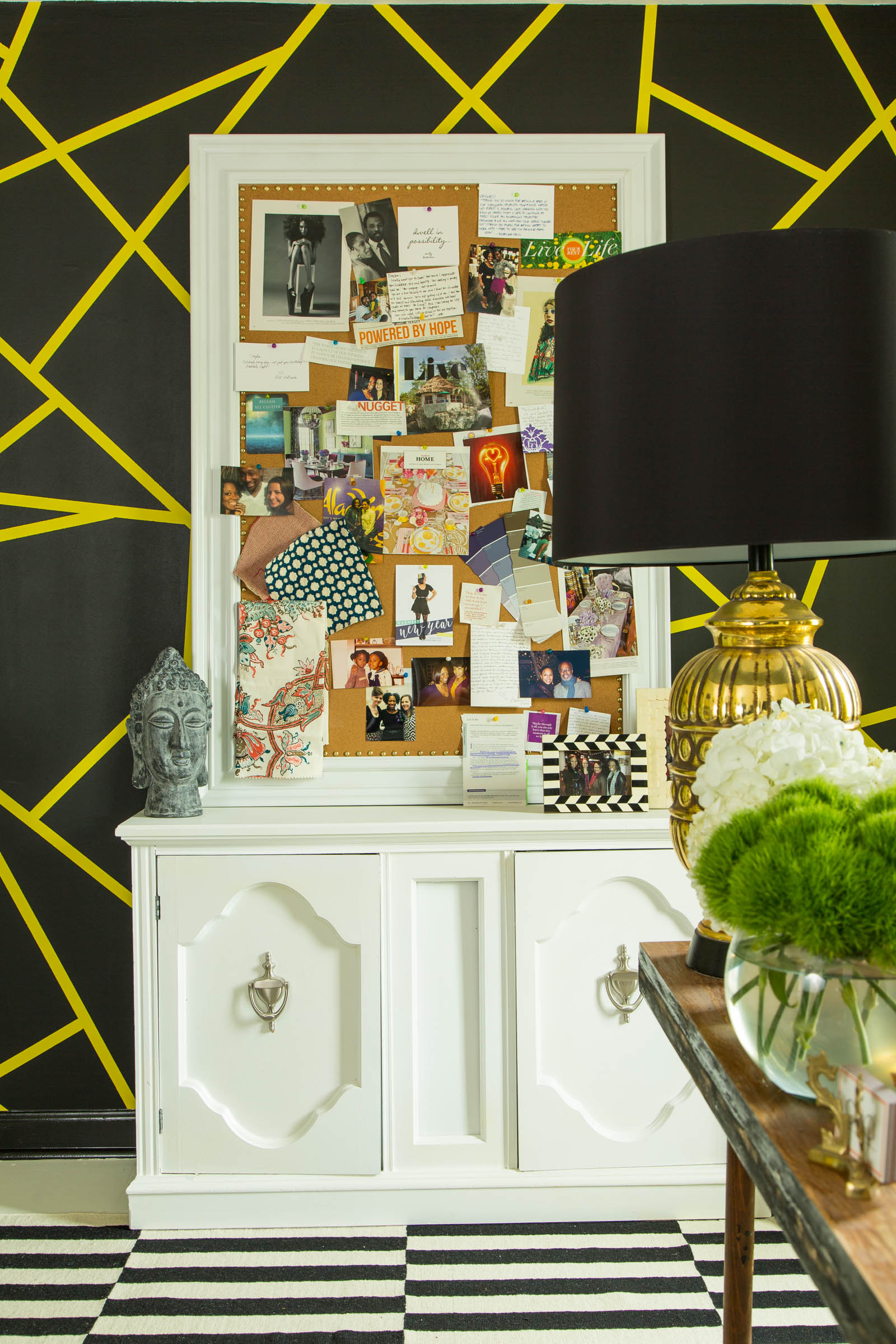 Dayka Robinson Designs Home Office Makeover Inspiration Board