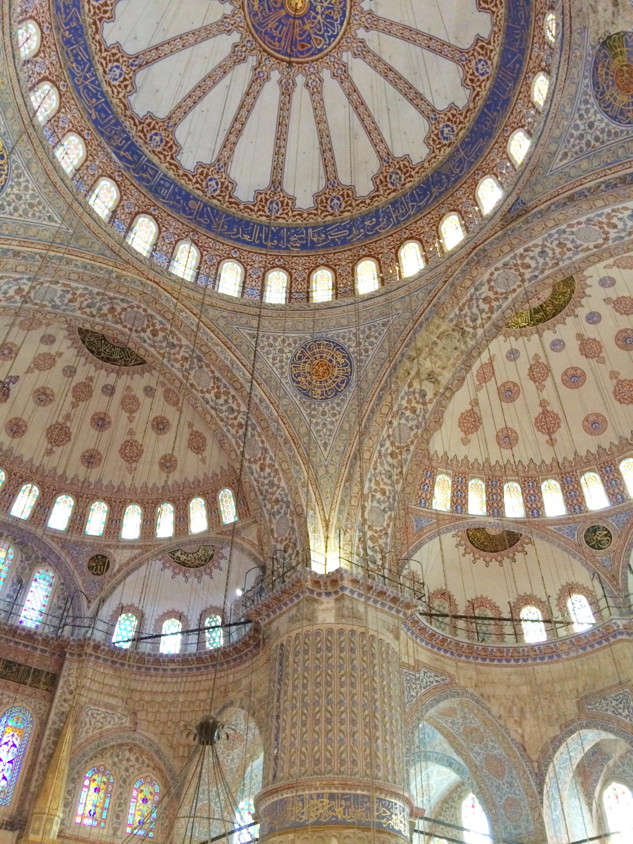 Istanbul Sultanahmet:Blue Mosque 2015 Dayka Robinson