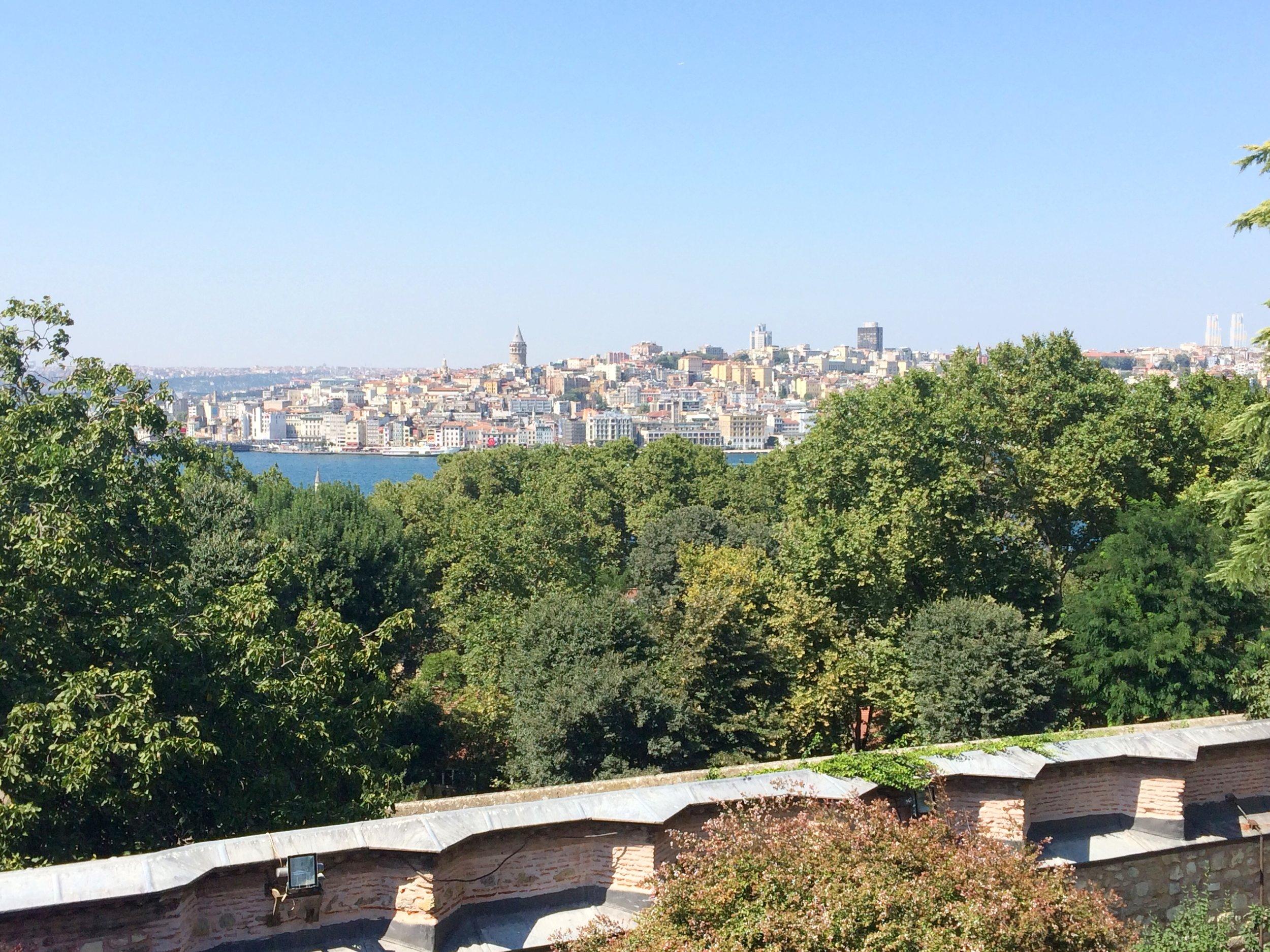Istanbul view, Topkapi Palace 2015 Dayka Robinson