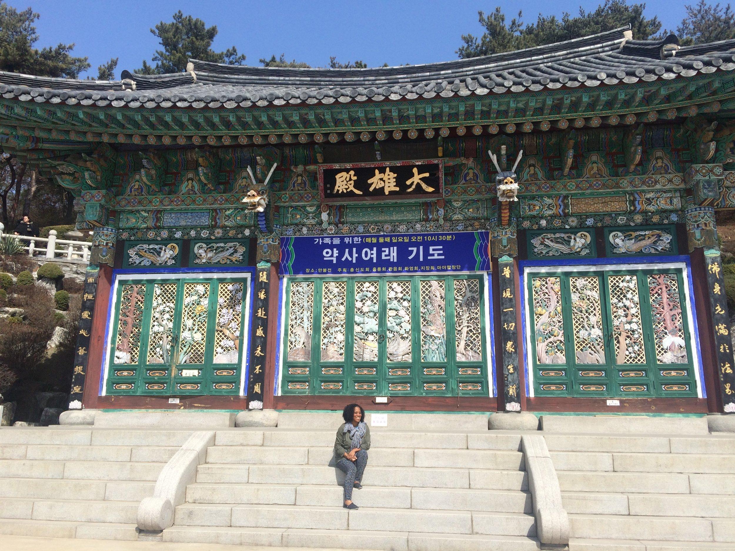 Dayka Robinson Bali Black Woman Solo International Black Woman Travel Ubud Incheon Seoul Korea-2 2016