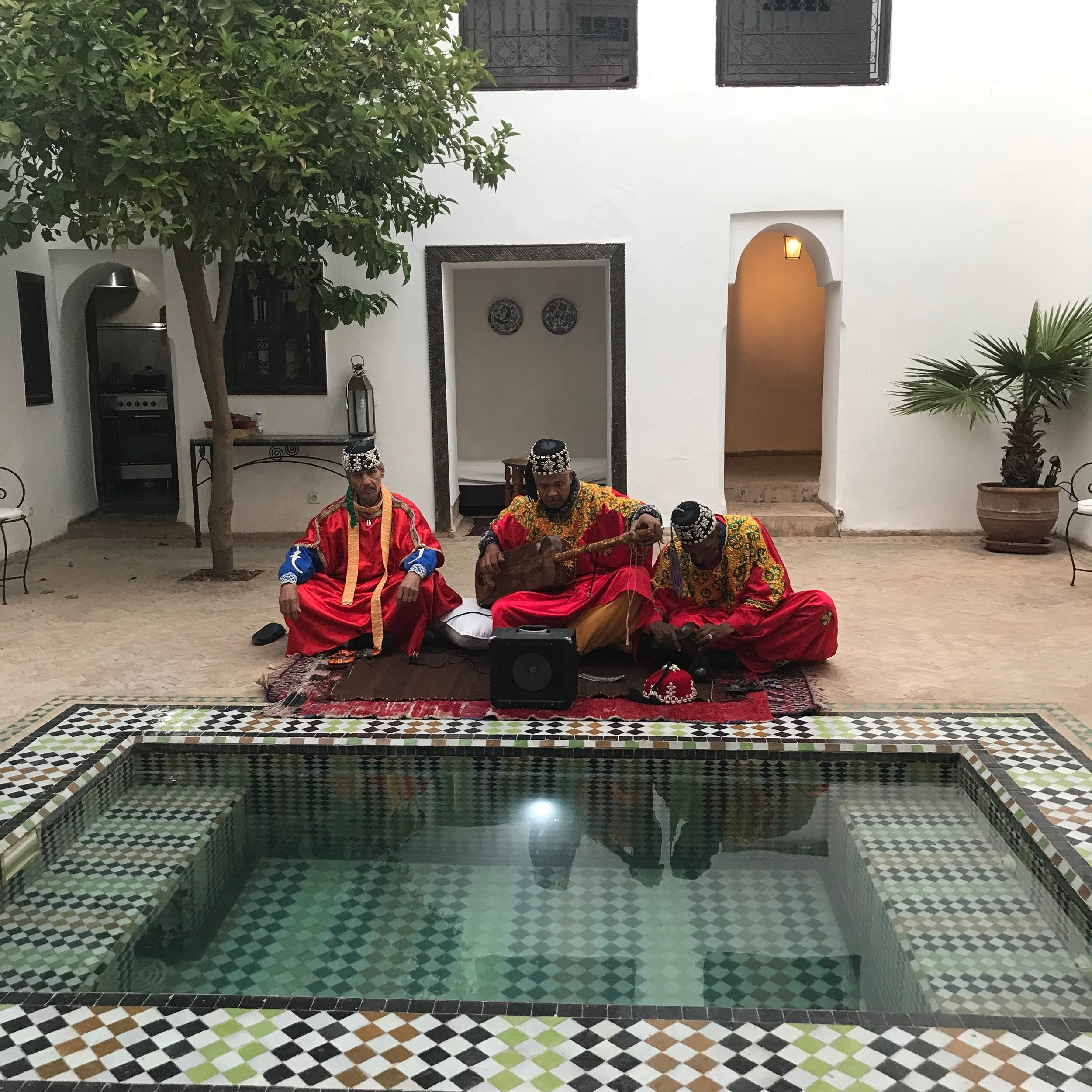 Lost & Found Marrakech April 2018 GNAWA.JPG