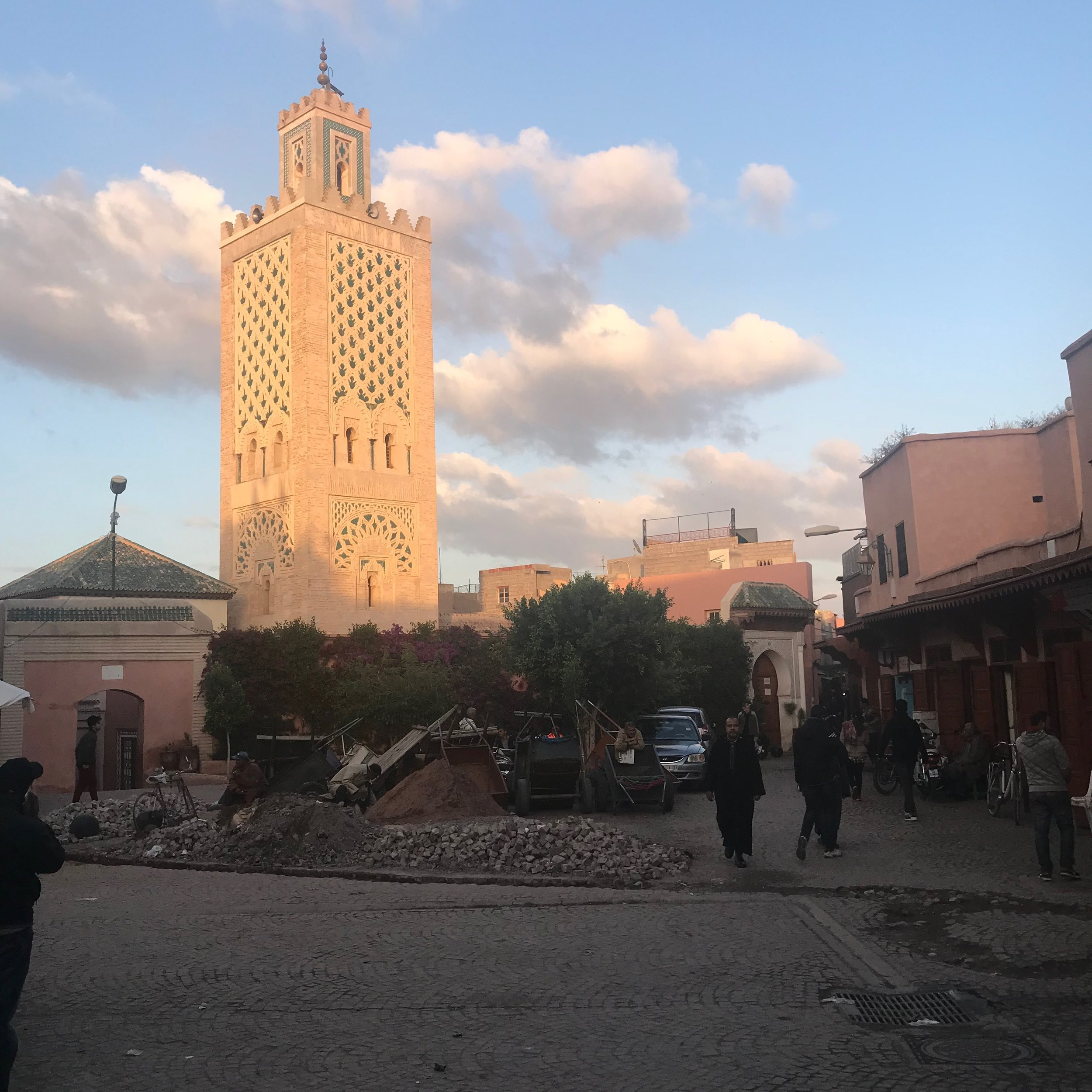 Lost & Found Marrakech April 2018 MOSQUE.JPG