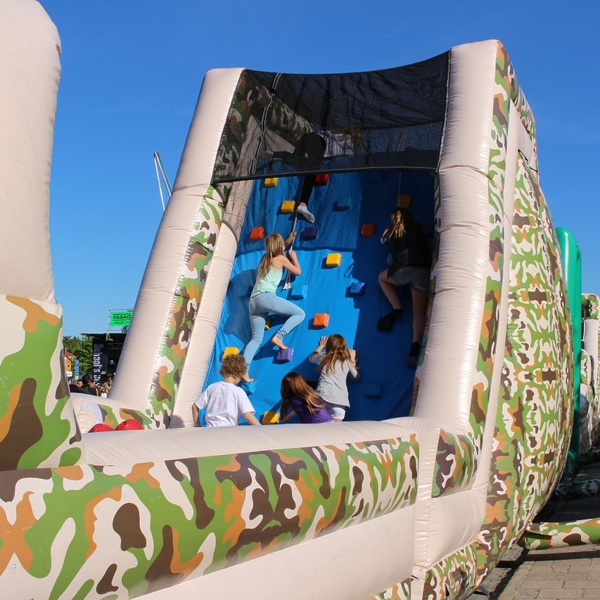 Design Challenge  - Design the ultimate obstacle course for the next Kid Spartan obstacle race event.