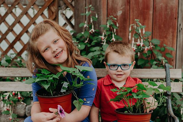 I had so much fun with the two cuties the other day!!! They were so playful and full of laughs the whole time and when we did this bench photo they really wanted to hold these plants which ended up being sweet potato plants😂🥔🌱 p.s. they ended up buying one of those😆 check out more in m story!!• • • • • • • #gpresets #loveit #love #throwback #tb #socute #family #familyphotography #familyportraits #familyphotoshoot #daybreeze #shootandshare #unconventionaltogs #belovedstories #authenticlovemag #courtneyranesphotography #ohiophotographer