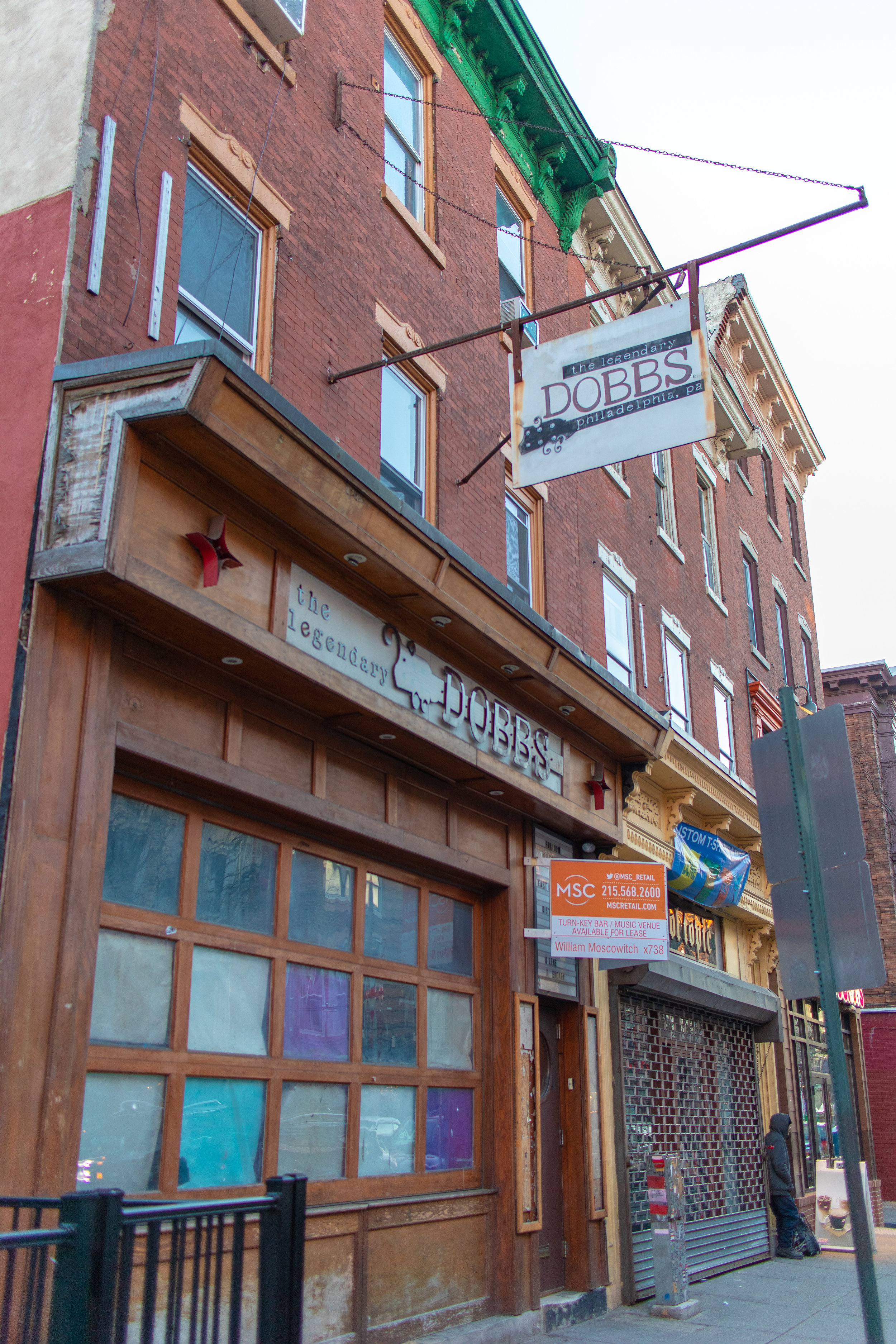 The Legendary Dobbs, formerly of 3rd and South. Photo by Ari