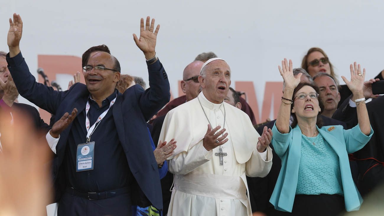 50th Jubilee of Catholic Charismatic Renewal, Rome 2016