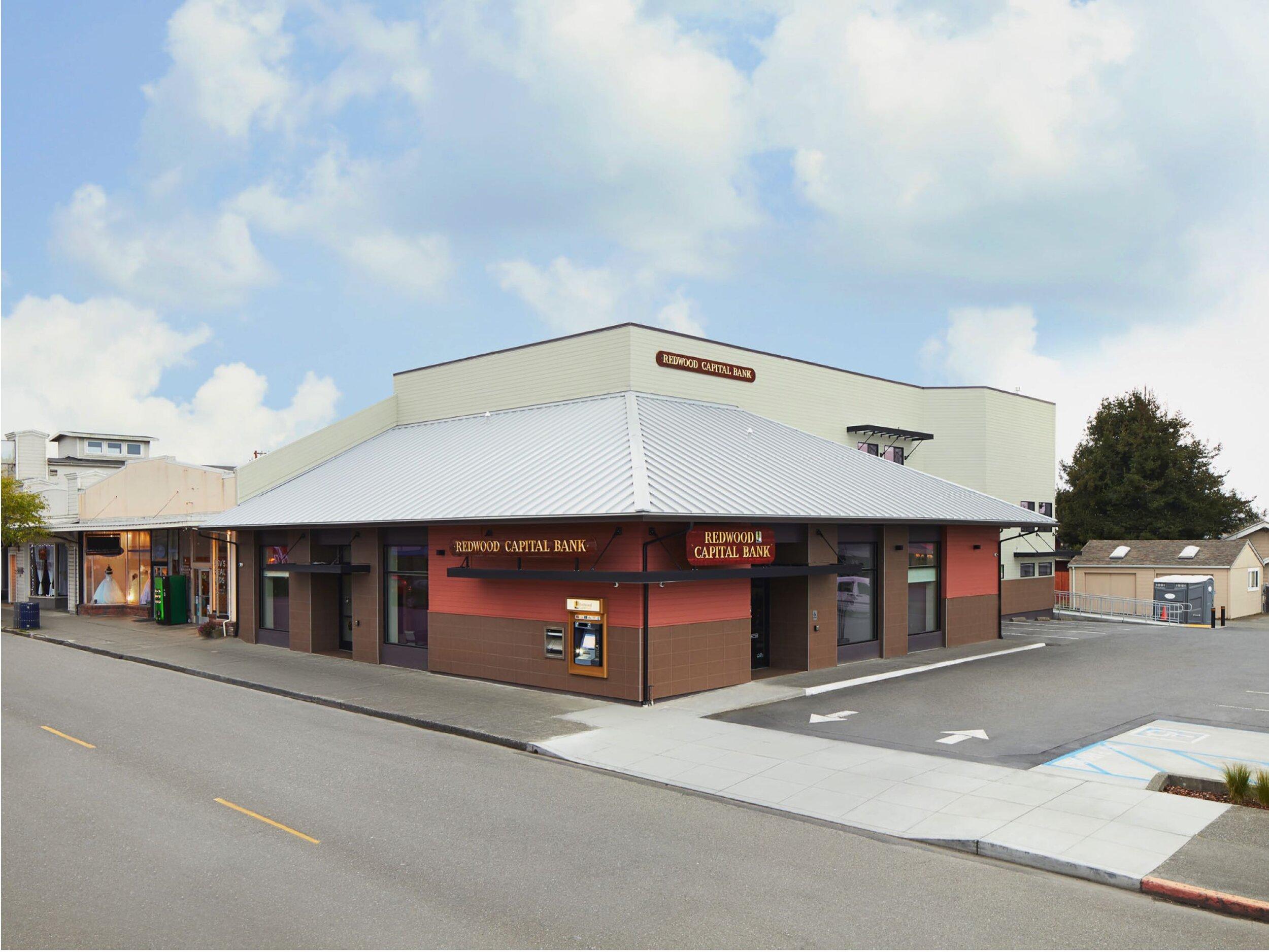 REDWOOD CAPITAL BANK - HENDERSON CENTER BRANCH