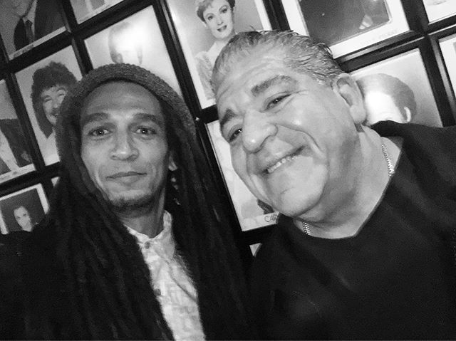 """Stay black and stay beautiful""  The legend #JoeyDiaz @madflavors_world @thecomedystore #intelligentrebellion #loveovereverything #love"