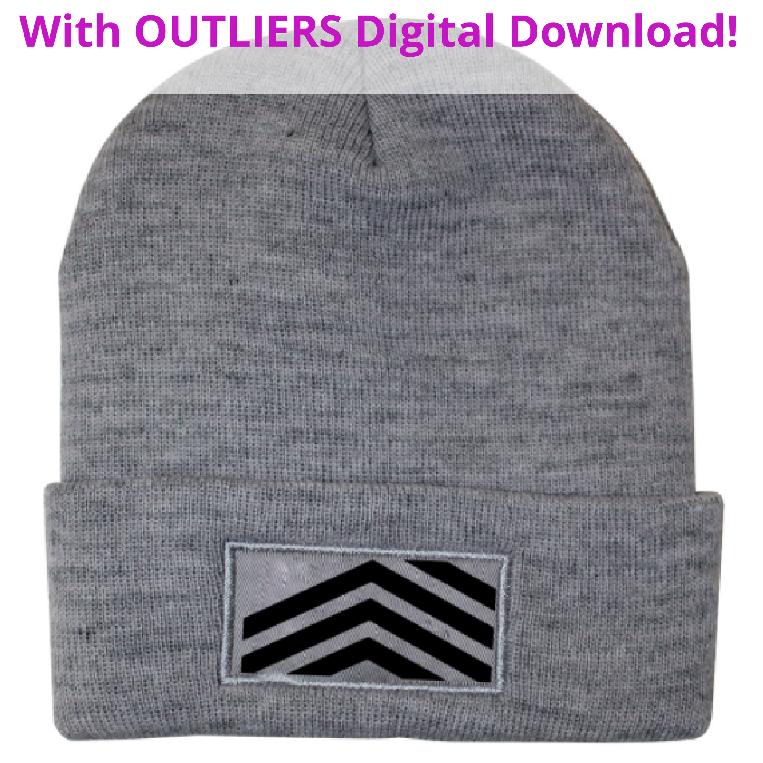 <b>OUTLIERS</b><small><br>Beanie + OUTLIERS Full Digital Download<br></small><b>$25</b>