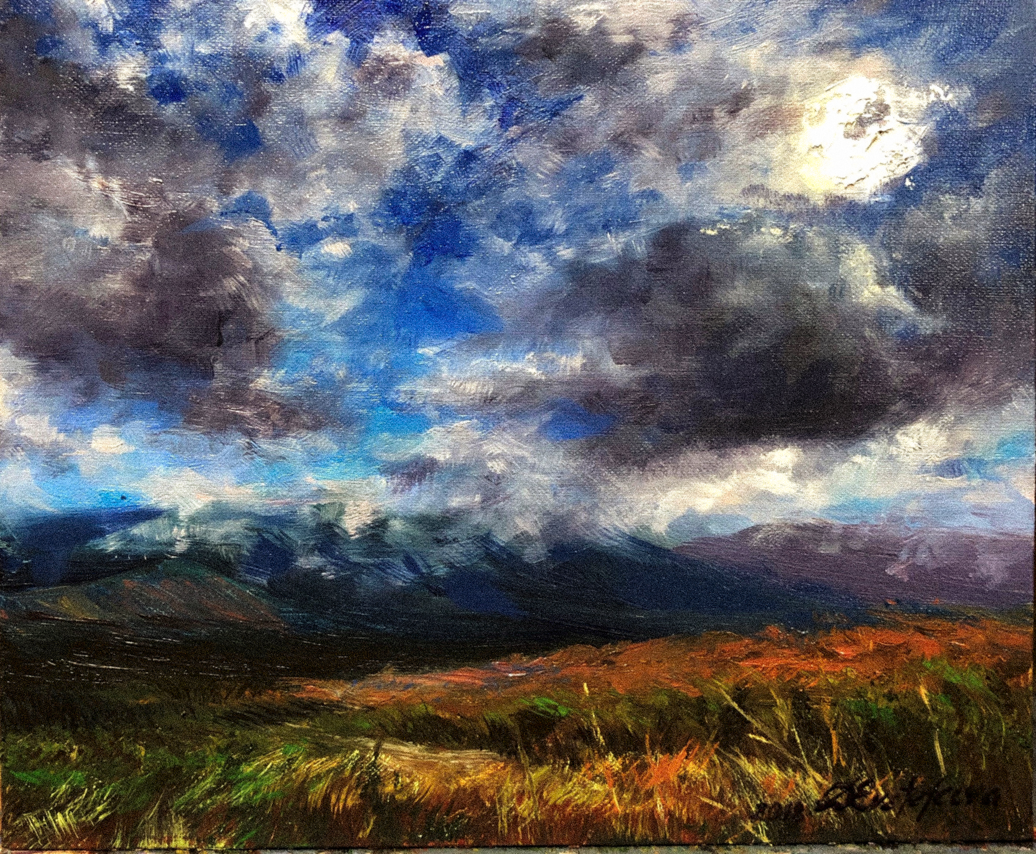"Santa Catalina Mountains 8""x10"""