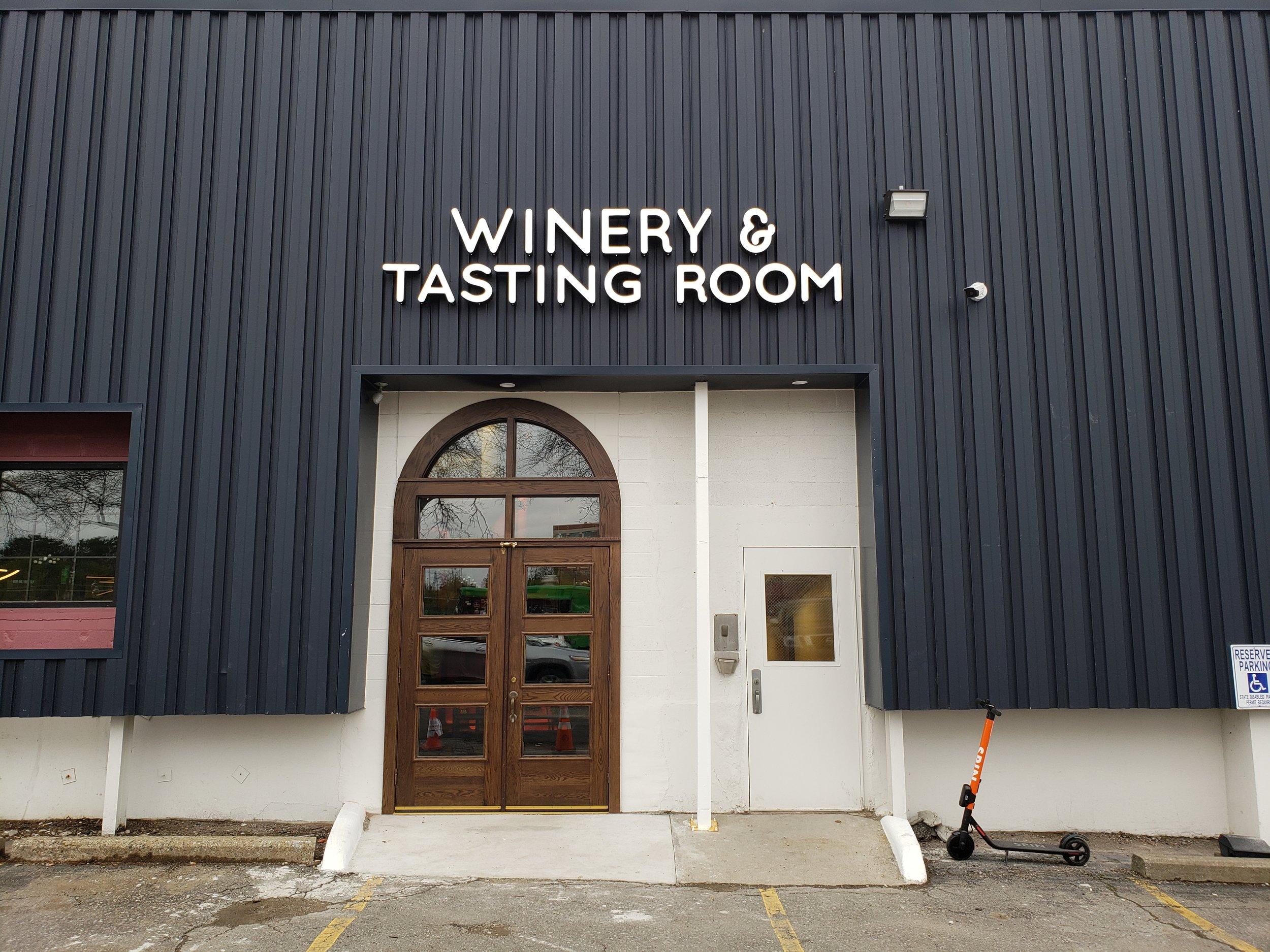 Tasting Room Entrance
