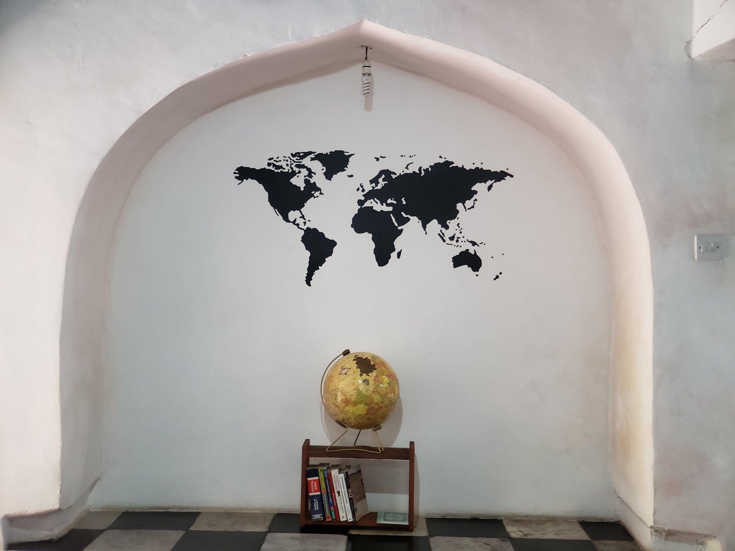 Interior of Puzzle Coffee