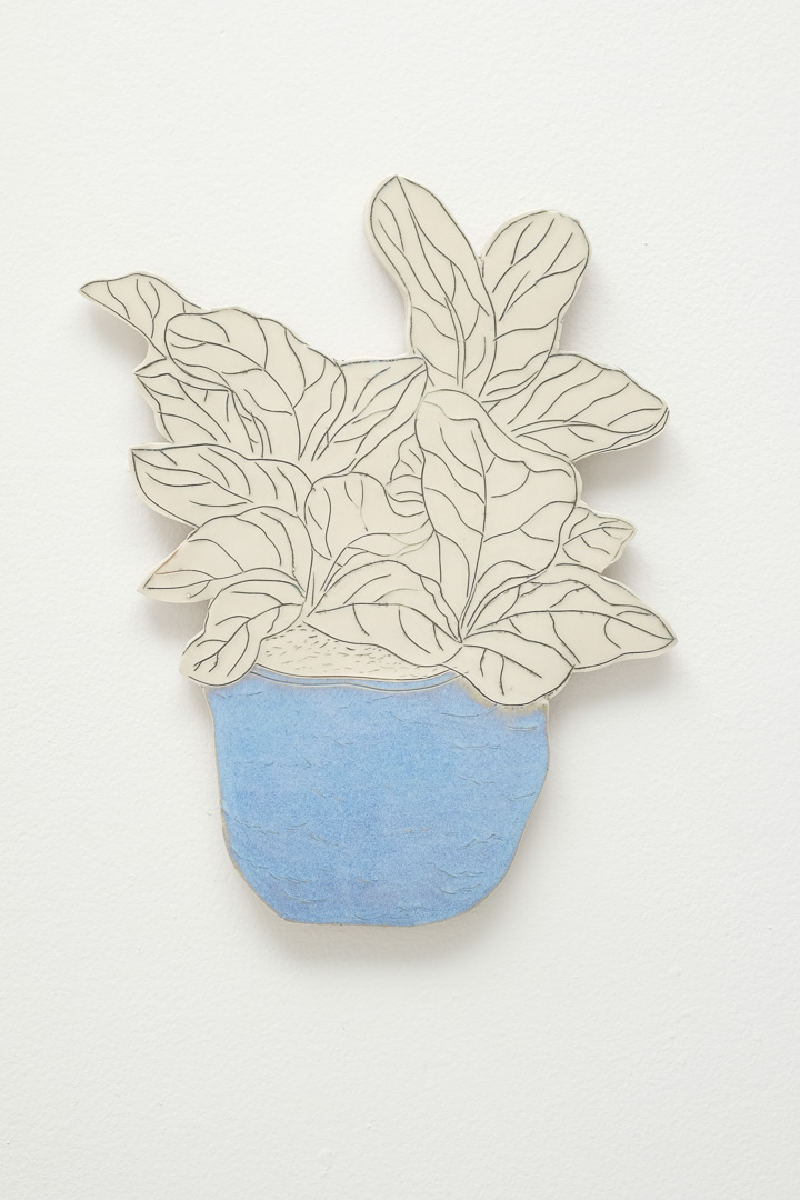 Ceramic Drawing, Porcelain, 2018