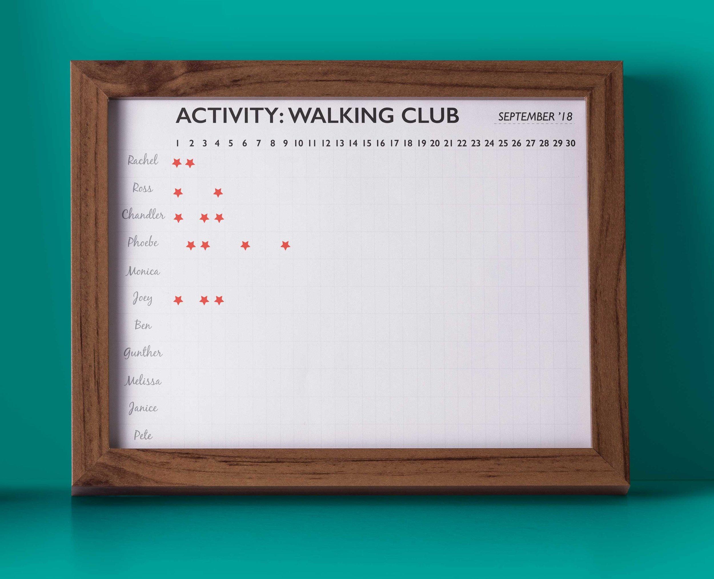 NHN Activity board