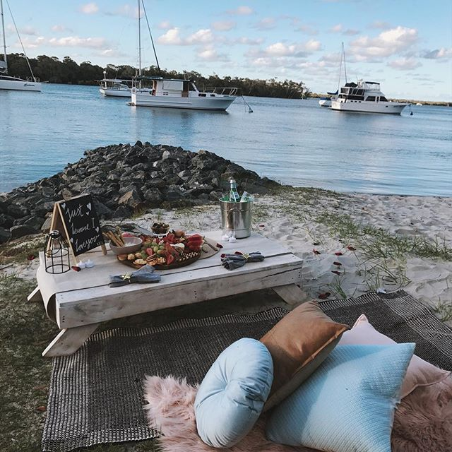 SEA OF LOVE - I want to tell you how much I love you....This Picnic for two is a perfect way to celebrate anniversaries, valentines day or just to let that special person know how much they mean to you.Includes platter to share.From $320, *delivery fee may incur depending on location