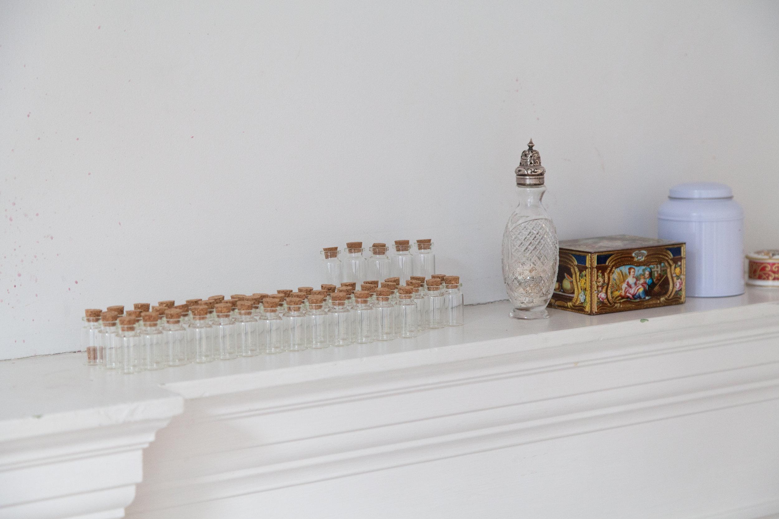 Memento containers, Delfina Foundation, Victoria, London, 2017. Photo: Christian Lübbert