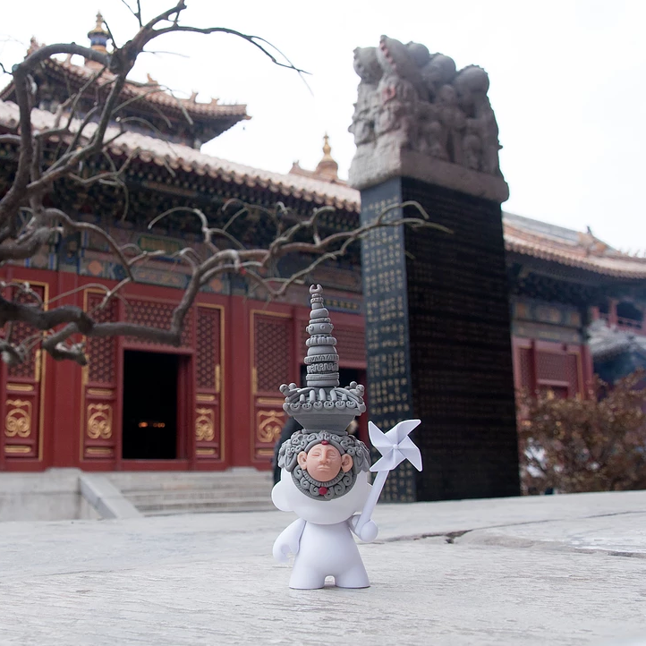 Heavenly Temple Munny, Beijing, China, 2015. Photo: Joshua Lue Chee Kong