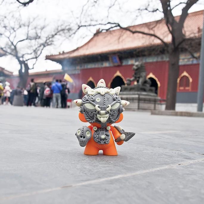 Return of MahākālaMunny, Beijing, China, 2015. Photo: Joshua Lue Chee Kong