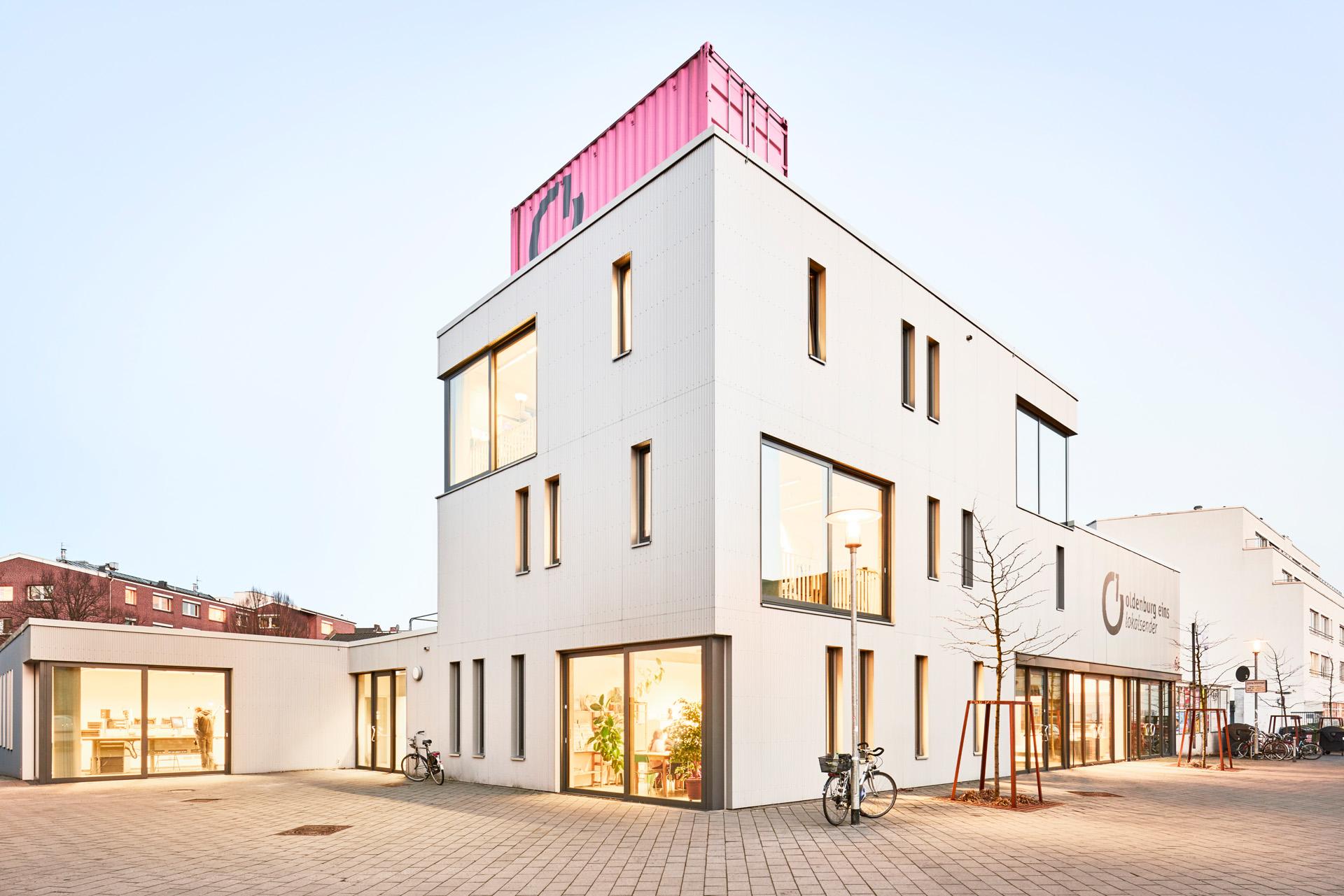 Architekturbild: Radiosender O1 Oldenburg, gruppeomp architekten