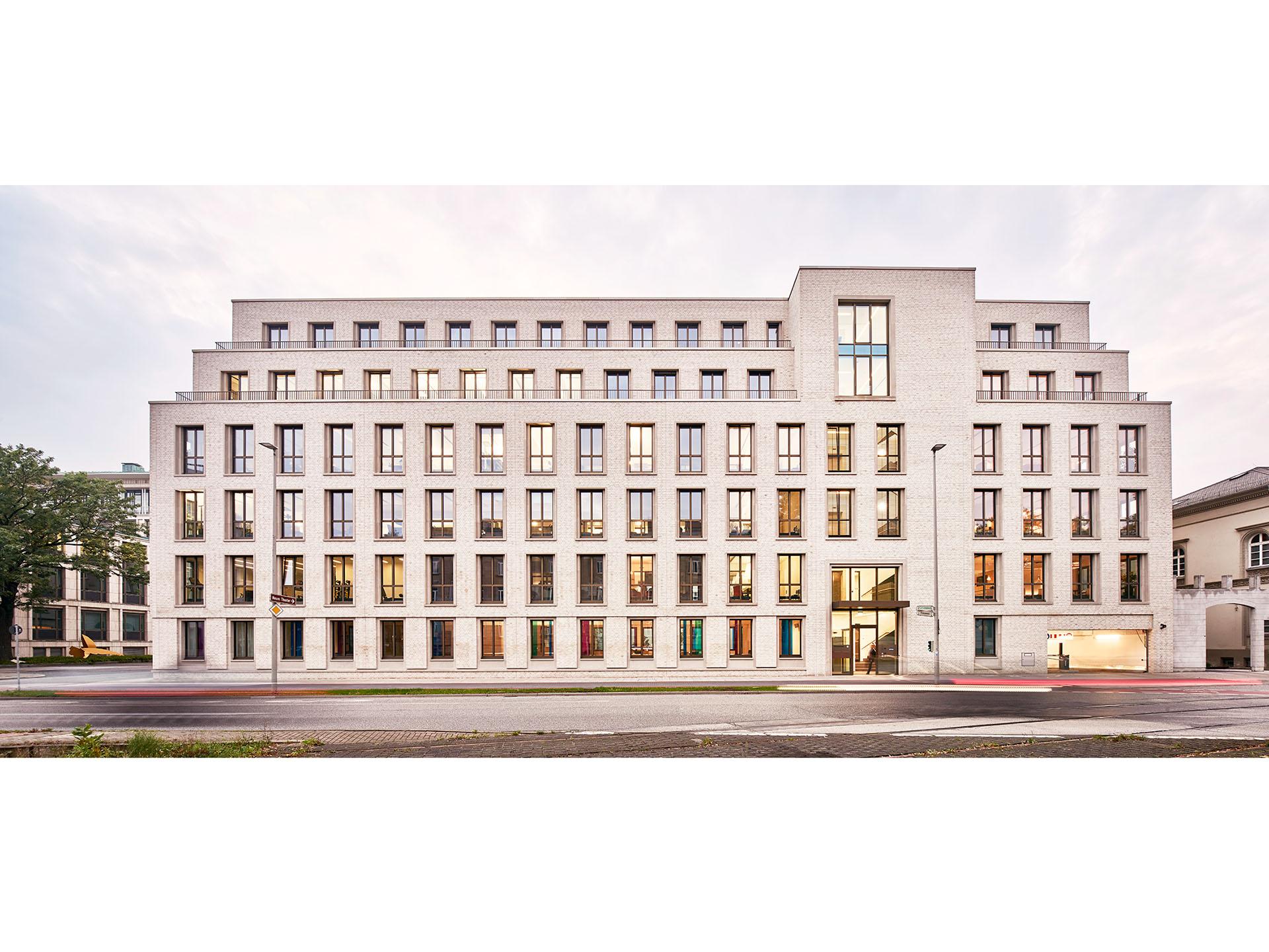 Architekturfoto: Fassadengestaltung Prinzenstraße Hannover, gruppeomp architekten