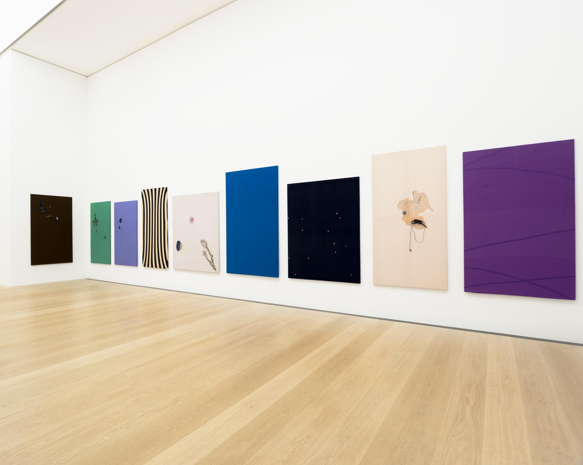 Ausstellungsfotografie: Raumansicht mit Arbeiten von Ricardo Paratore in der Ausstellung zum Preis der Böttcherstraße, Kunsthalle Bremen