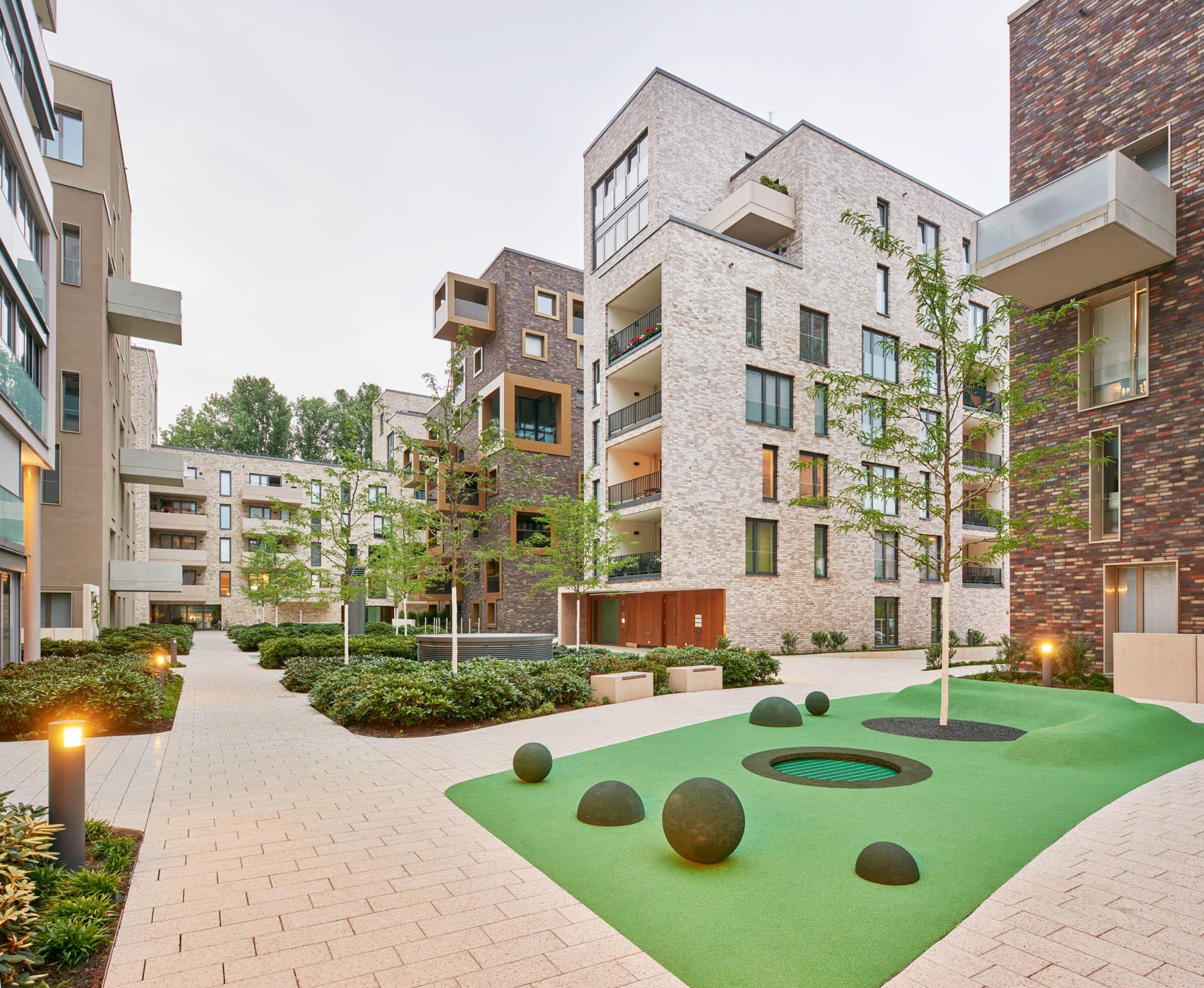 Außenansicht: Pelikan-Areal Hannover, gruppeomp architekten & Cityförster