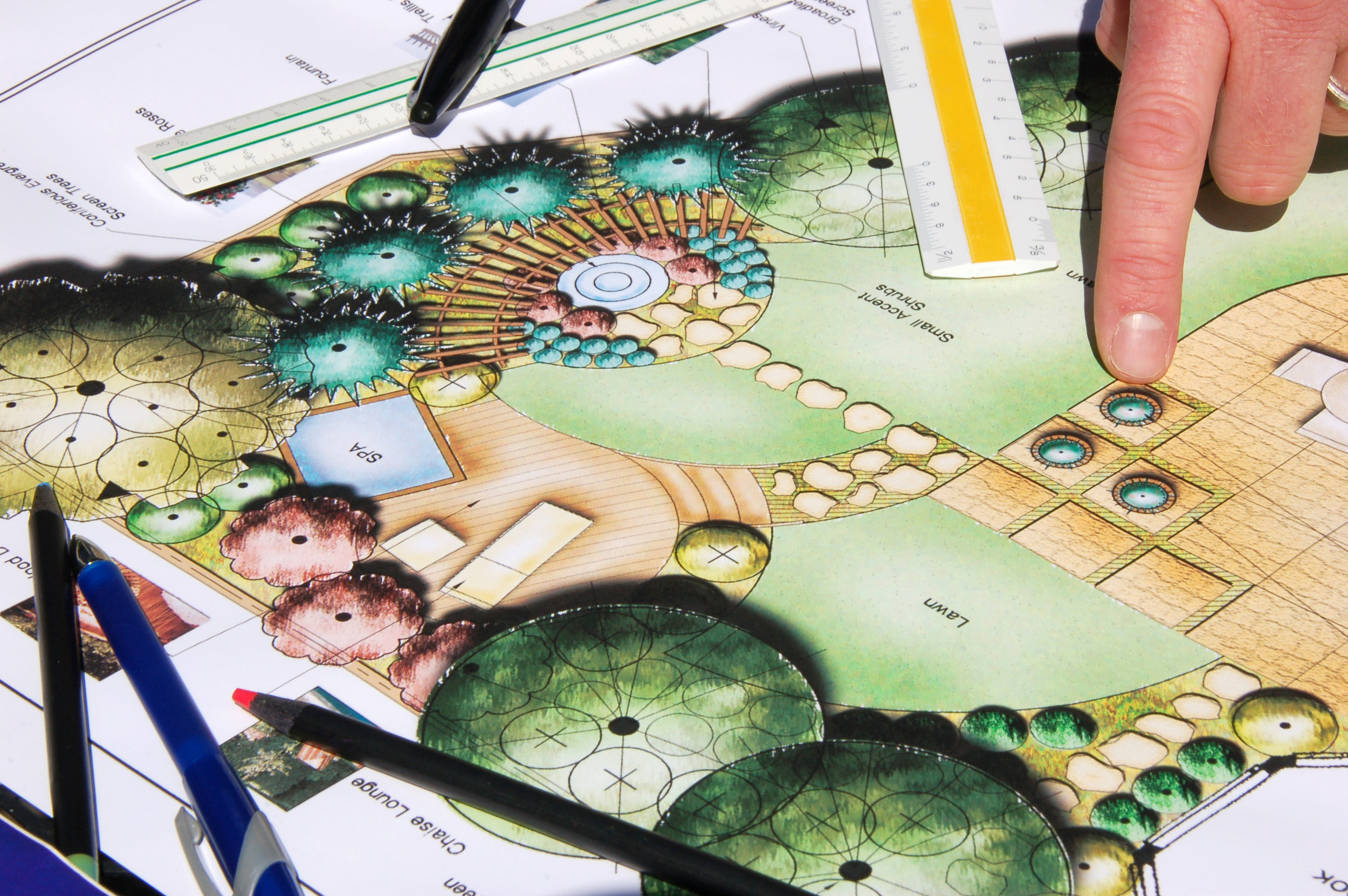 Garden Design - Design, Build, Instal.