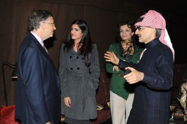 Prince Alwaleed & Princess Ameerah with Mr. Bill Gates.jpg