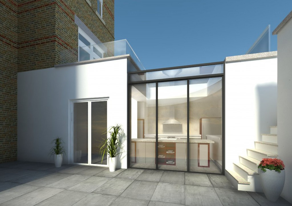 Extension - Greenwich South Street SE10.