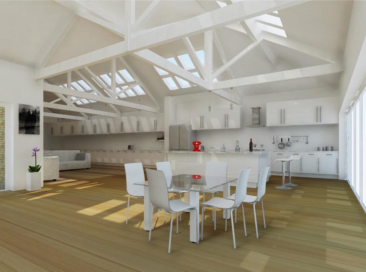 Westcombe House - Proposed interior