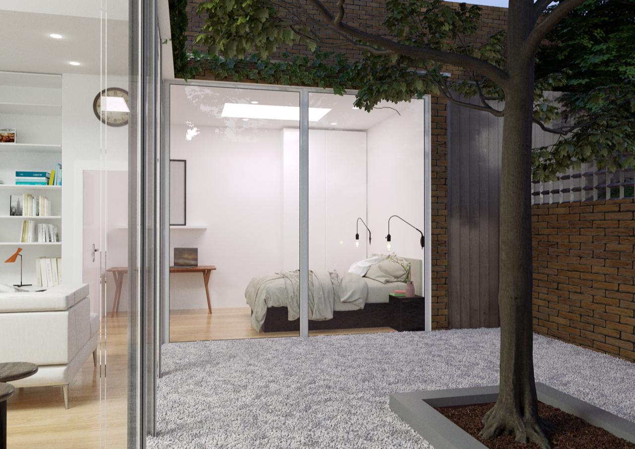 Render of proposed design - Interior