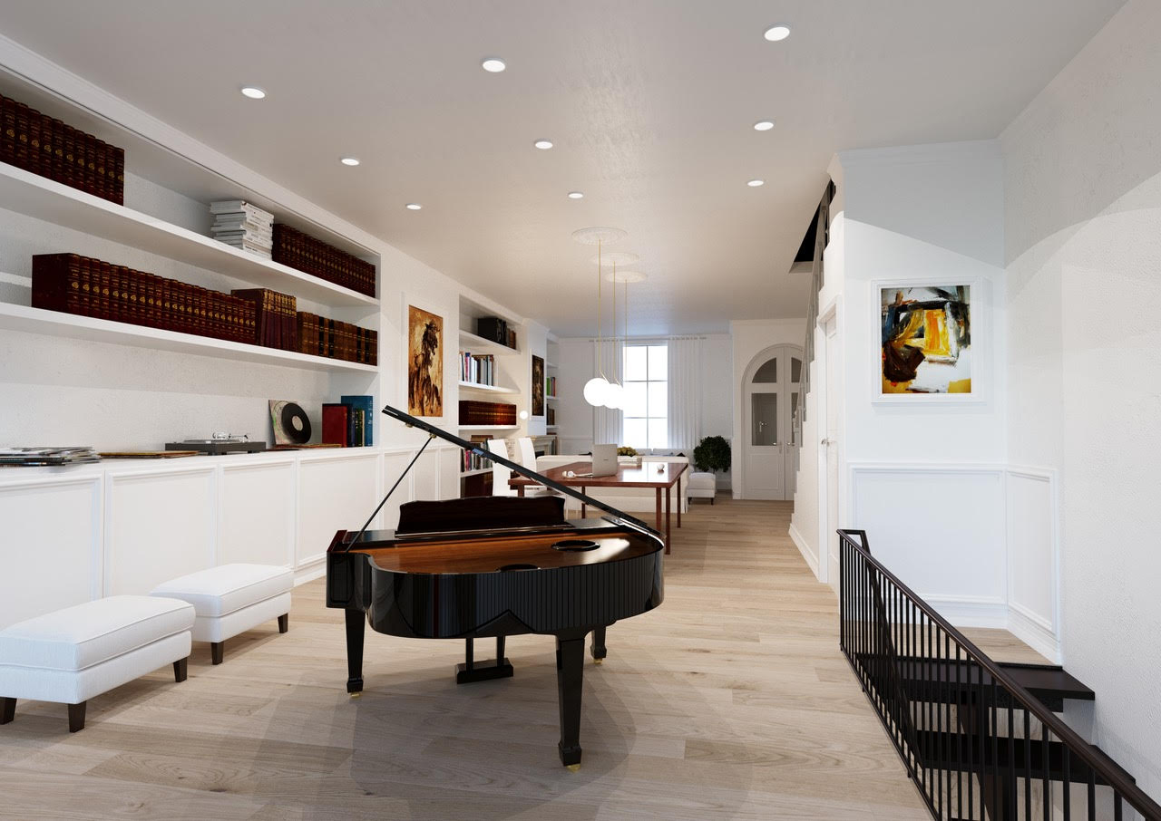 Kitchen and Music Room Extension - 34 Crescent Road, SE12.