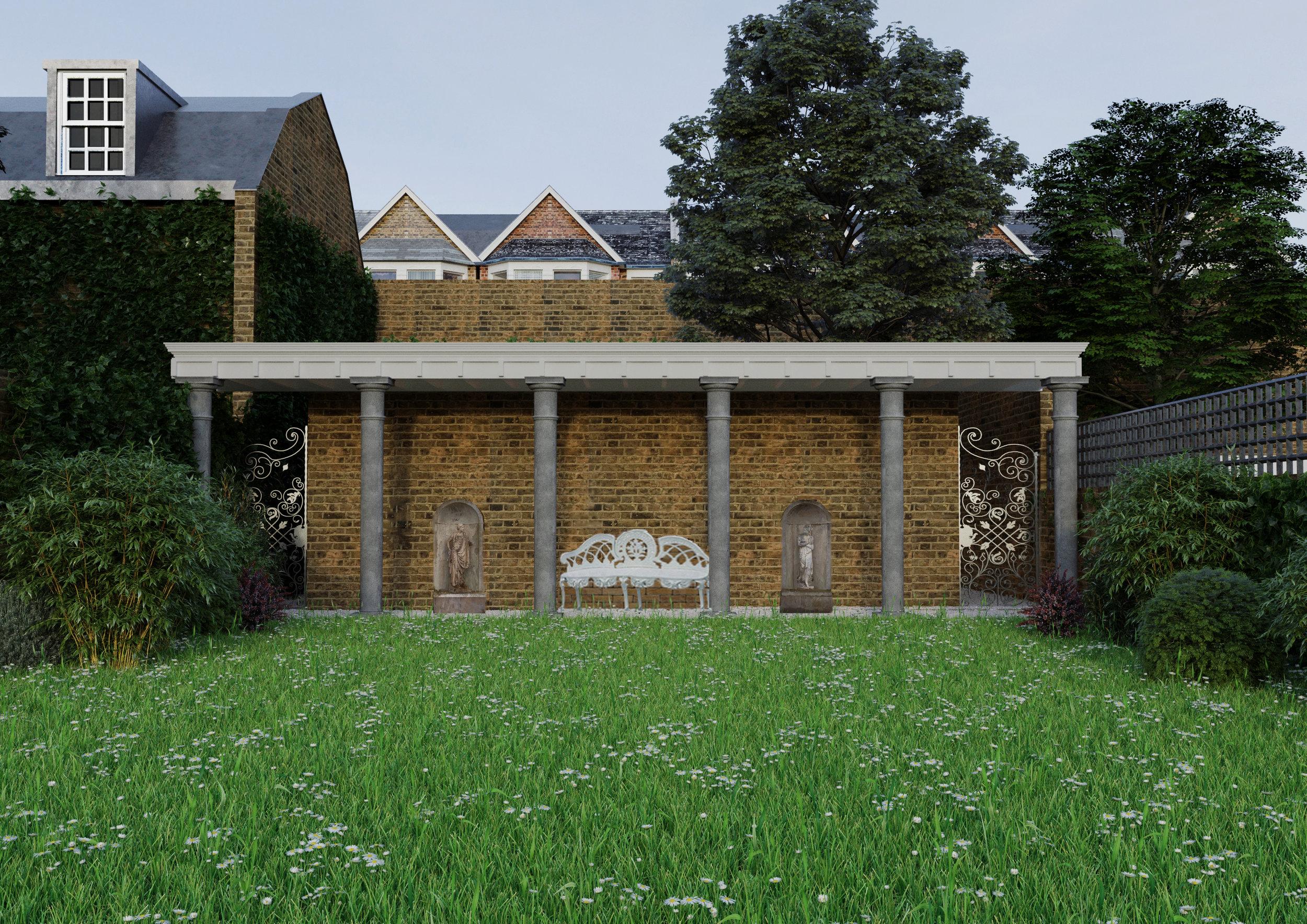 Garden Villa - Chepstow Villas.