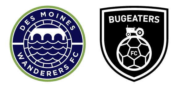 Bugeaters FC (2-1-1) face the Des Moines Wanderers FC (2-2-1) this weekend in Iowa.