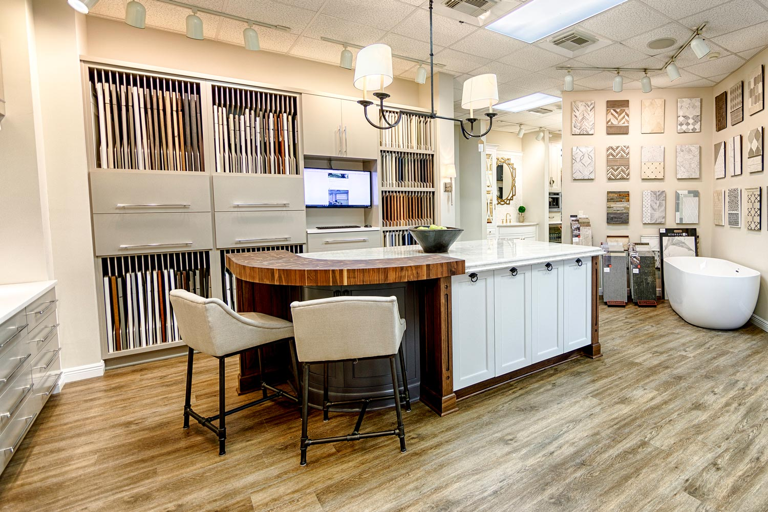 Get Advice on Home Office Remodeling at Our Showroom.5227 Whigham Circle Tuscaloosa, AL.