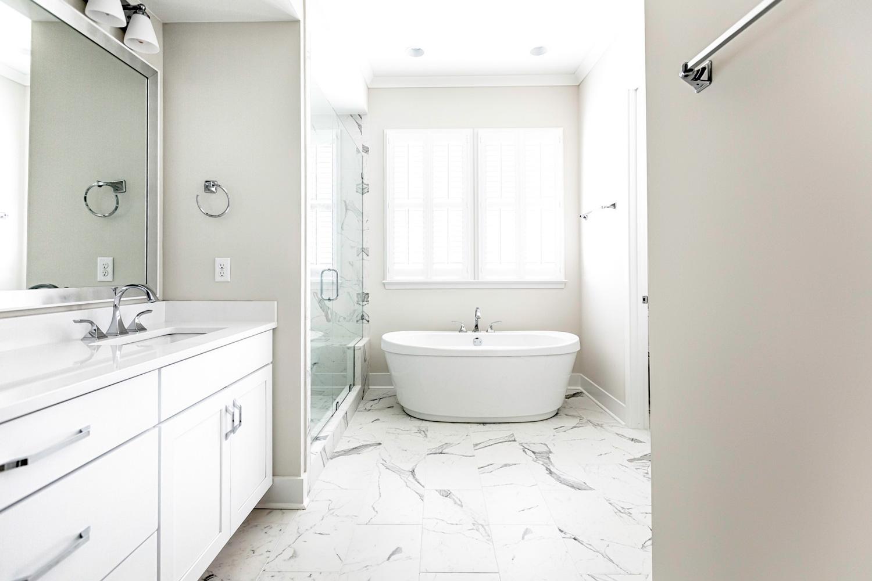 Bathtubs for a master bath suite remodel.