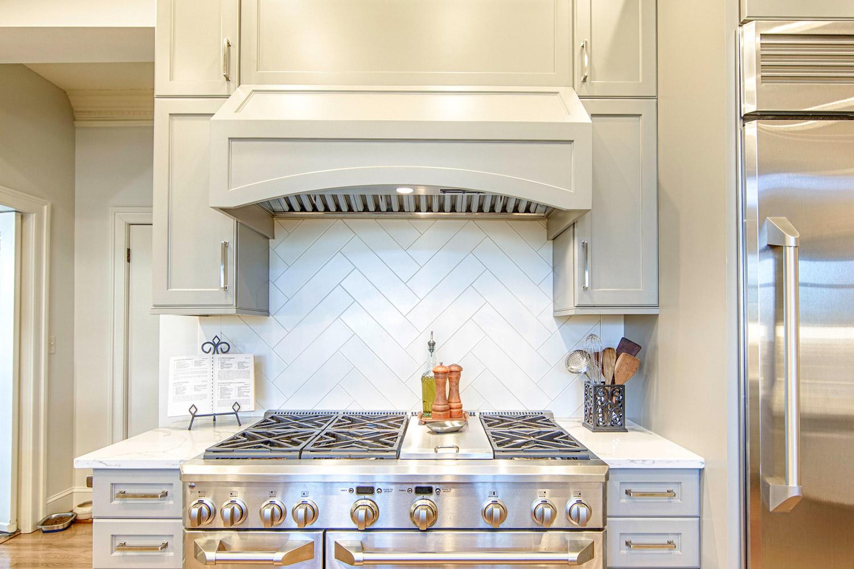 Something Other Than Subway Tile For A Unique Kitchen Backsplash Toulmin Cabinetry Design