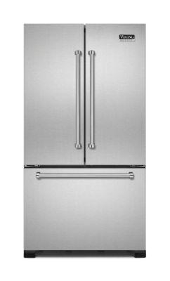 "Viking 36"" French-Door Bottom-Freezer Refrigerator VCFF236SS"