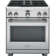 """General Electric GE Monogram® 30"""" All Gas Professional Range with 4 Burners"""