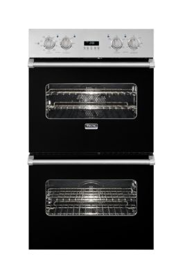 """Viking 27"""" Double Custom Electric Select Oven, No Brass Accent"""