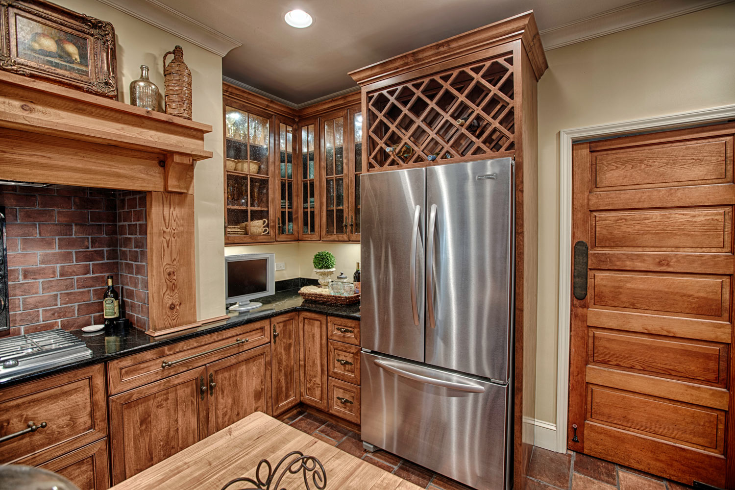 Appliances are by Kitchenaid
