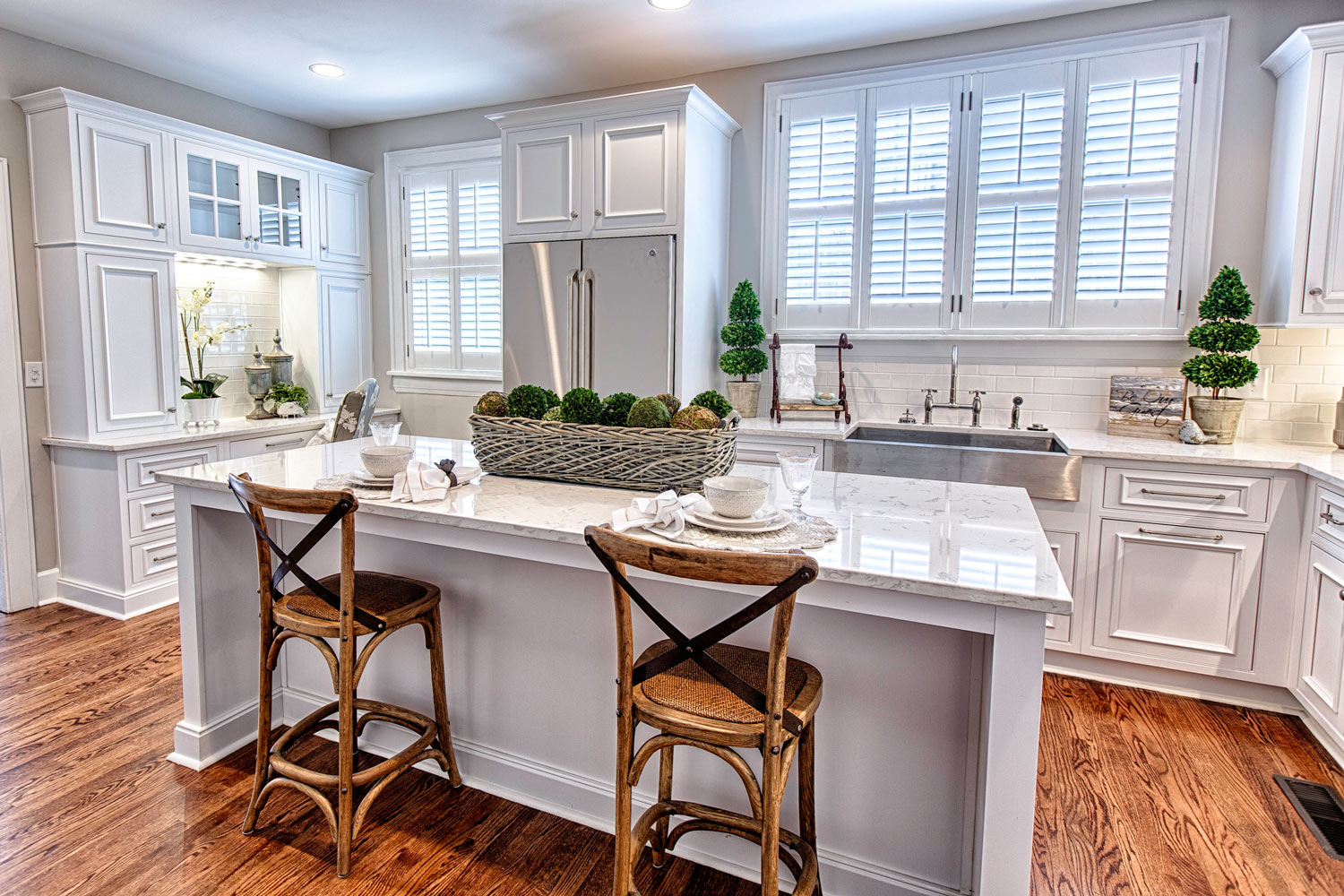 Cambria Tourquay countertops with Summit edge.
