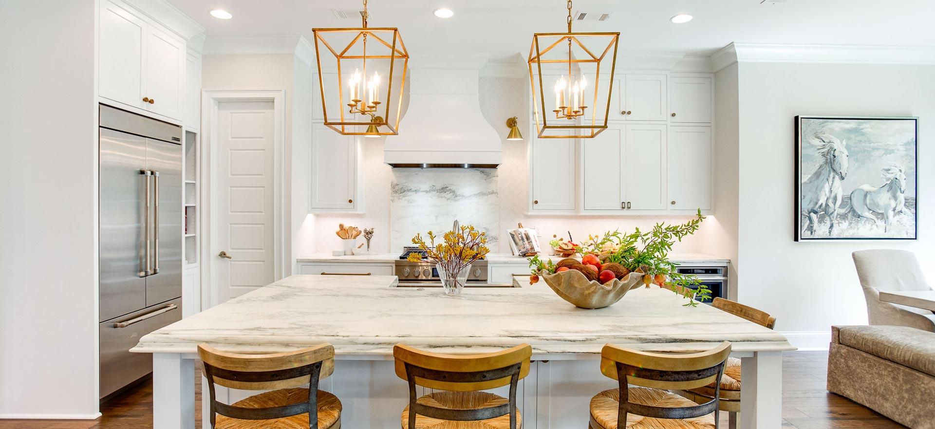 New Home Custom Kitchen Design Tuscaloosa, Alabama.
