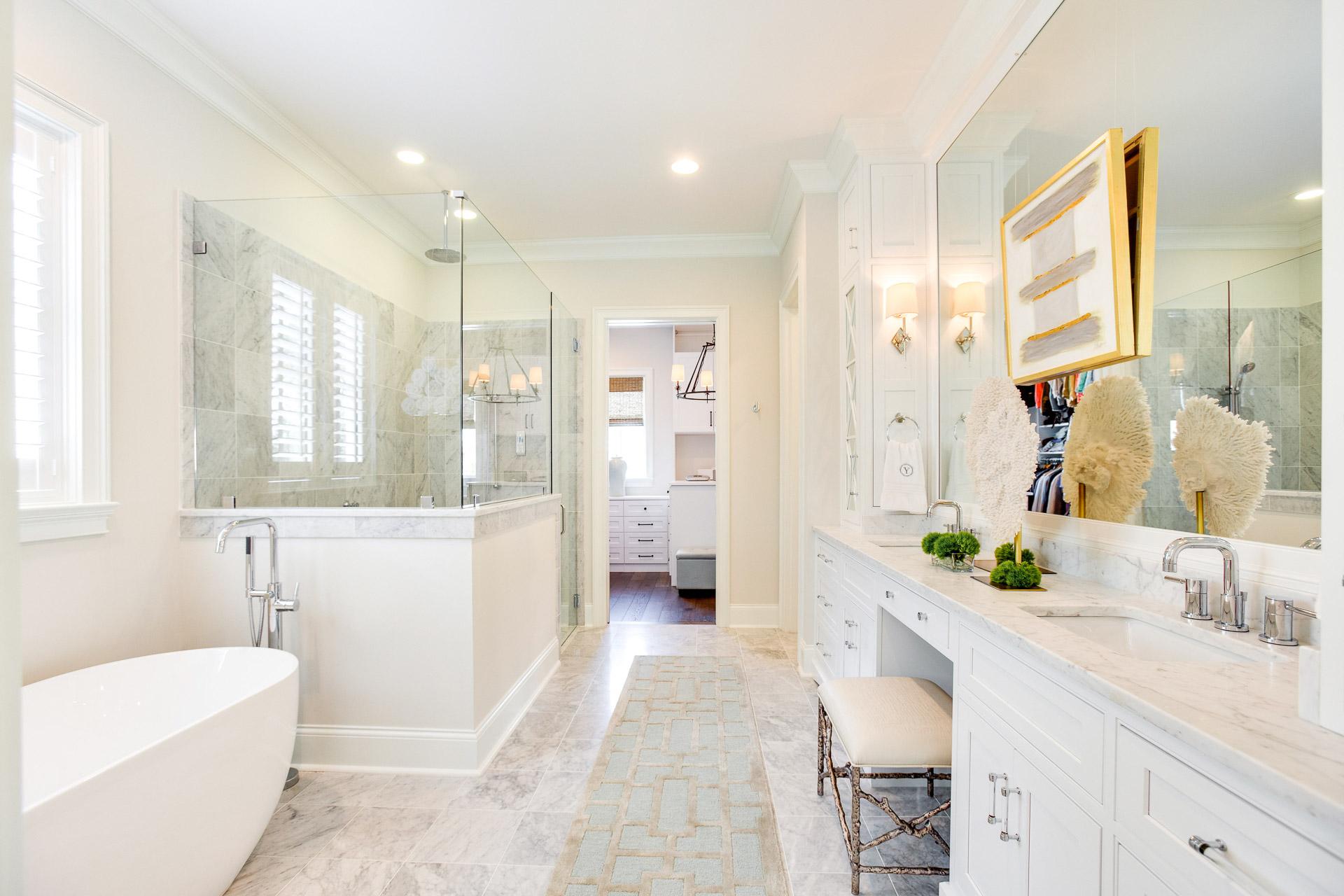 Master Bathroom Design New Construction Tuscaloosa Alabama