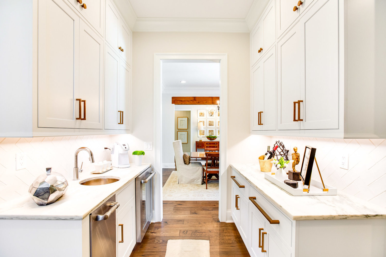 Consider incorporating a working pantry in your kitchen remodel.