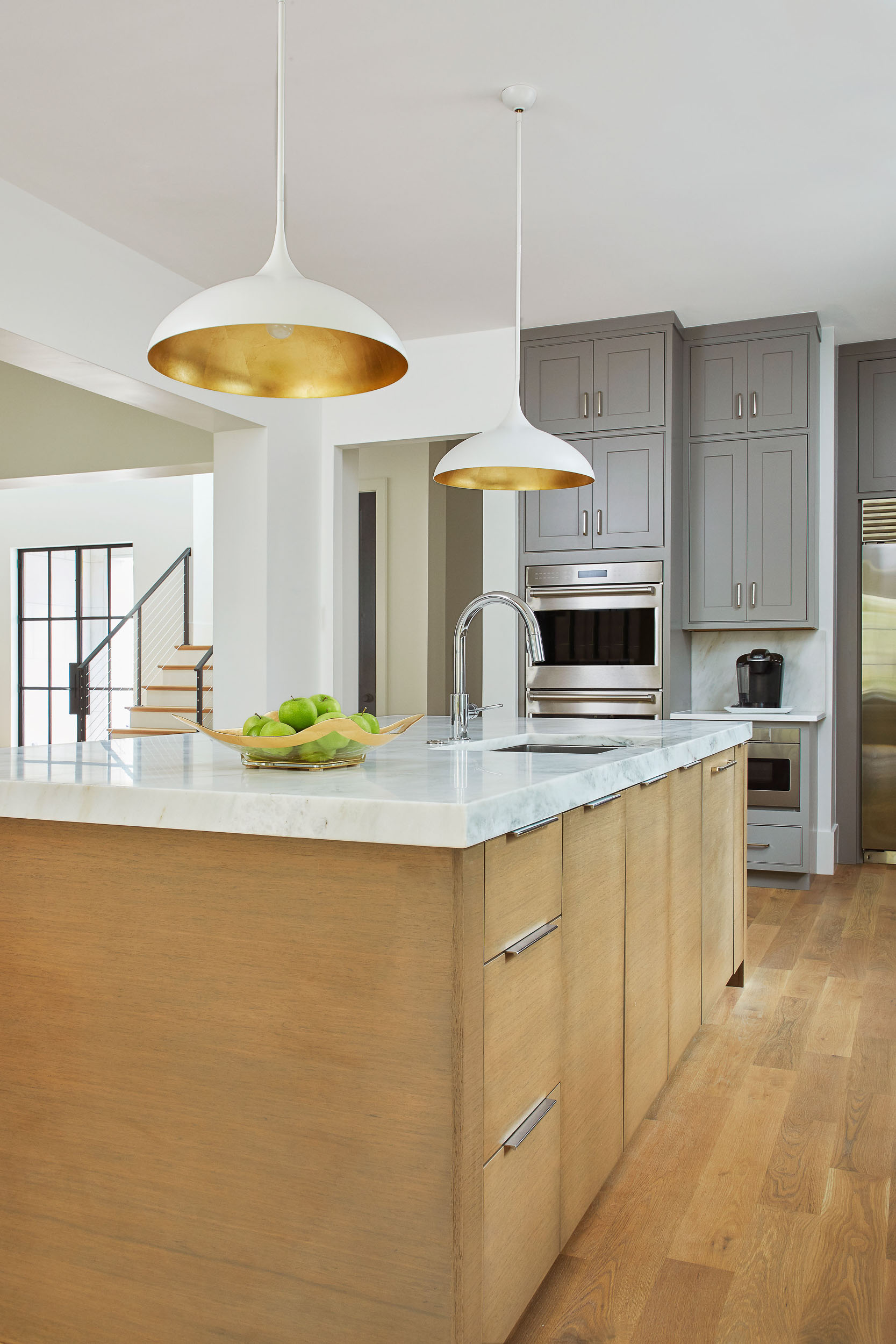 Tab Pull Cabinet Hardware By Top Knobs in Polished Nickel