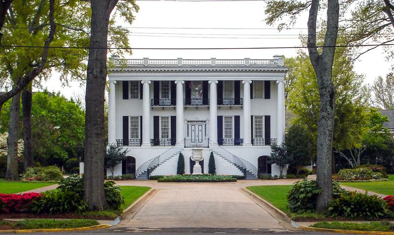 The President's Mansion,  University of Alabama